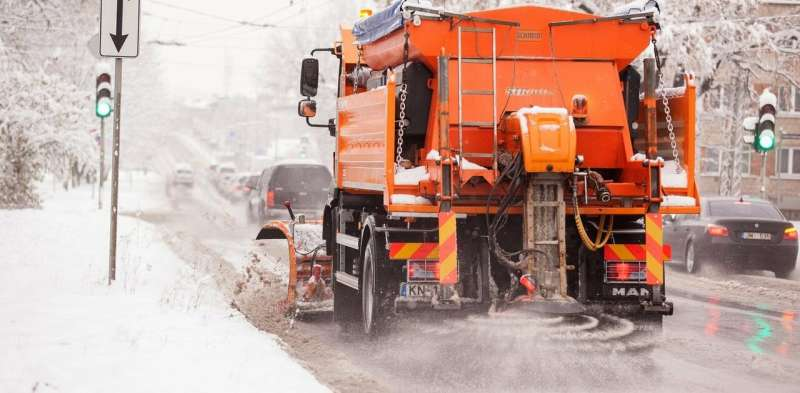 Salt doesn't melt ice – here's how it actually makes winter streets safe