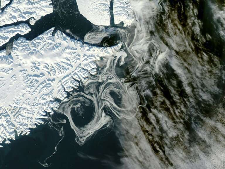 Satellites are used to measure ice loss in Greenland
