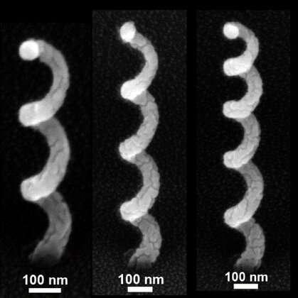 Save time using maths: Analytical tool designs corkscrew-shaped nano-antennae