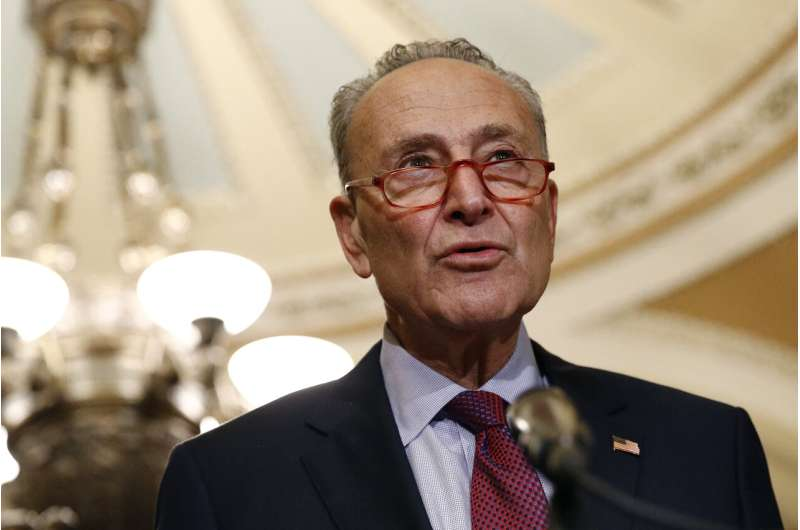 Schumer proposes $462 billion car swap - gas for electric