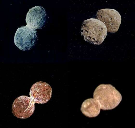 """Scientist anticipated """"snowman"""" asteroid appearance"""