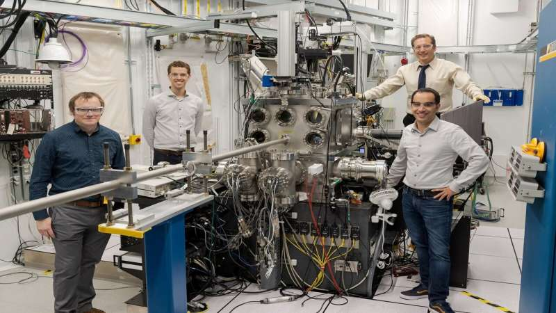 Seeing sound: Scientists observe how acoustic interactions change materials at the atomic level