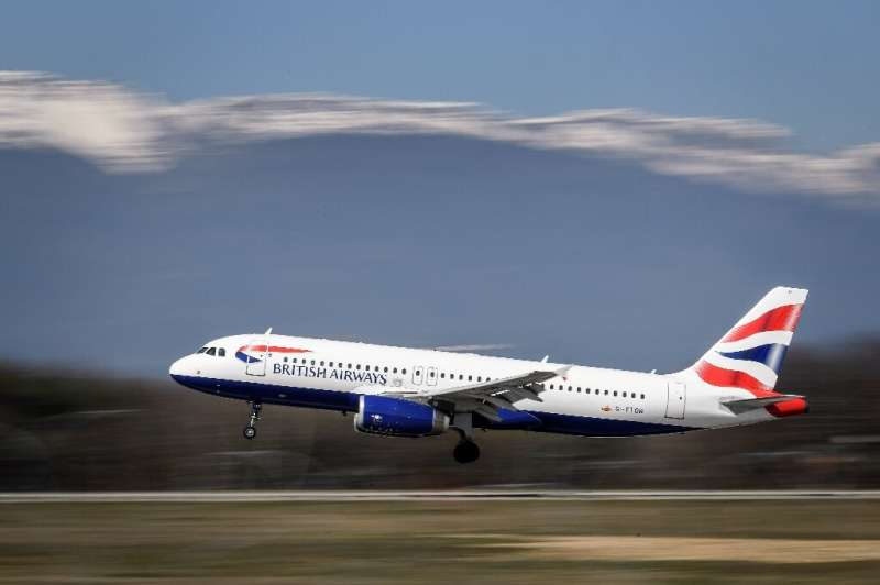 Shares in IAG rose after the airline group reported results that showed it is holding up well despite intense competition in the