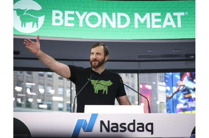 Shares of Beyond Meat have surged since Chief Executive Ethan Brown ran the opening bell at Nasdaq MarketSite on May 2 when the