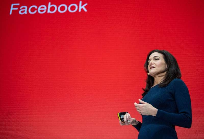 """Sheryl Sandberg, chief operating officer of Facebook, said a breakup of big internet firms might not address the """"underlyin"""