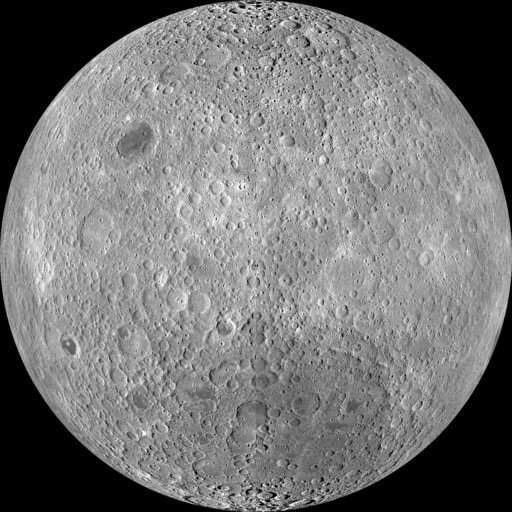 Side of the moon you can't see 'is not dark, it's just far'