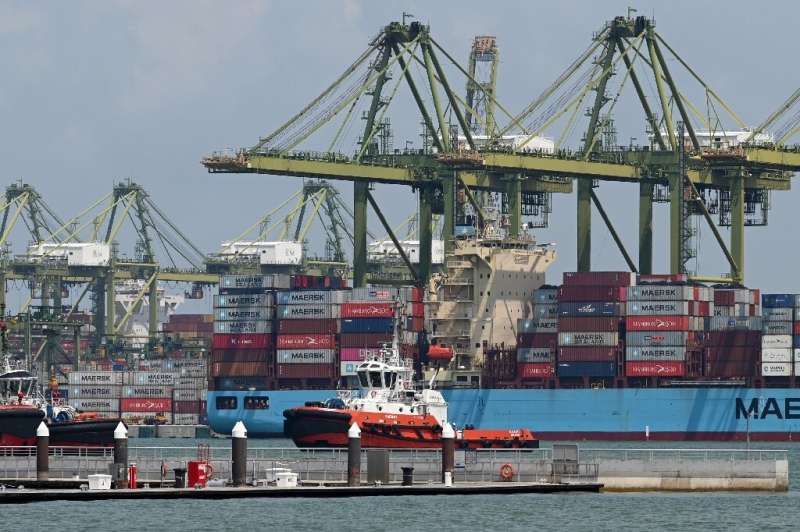 Singapore is highly dependent on trade and has traditionally been one of the first places in Asia to be hit during global downtu