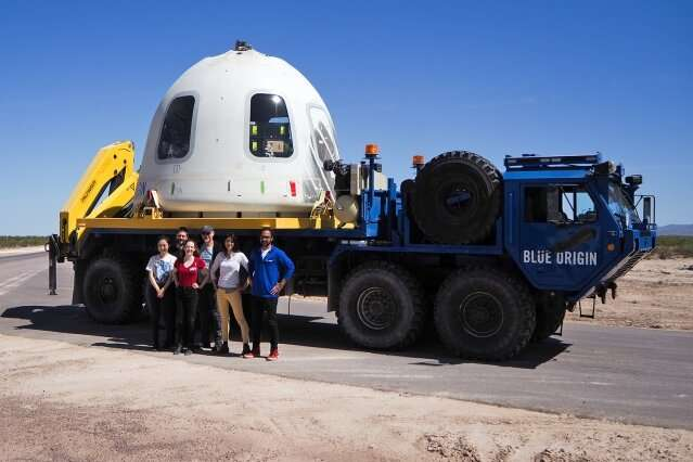 Six suborbital research payloads from MIT fly to space and back