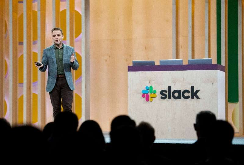 """Slack chief executive and co-founder Stewart Butterfield described the company's technologies as a """"brand new category of s"""