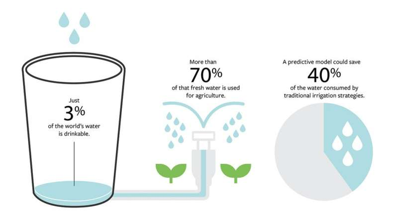 Smart irrigation model predicts rainfall to conserve water