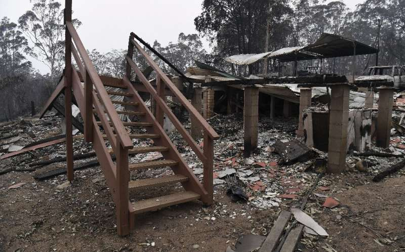 Some of those allowed to return to their properties found nothing but the charred remains of their homes