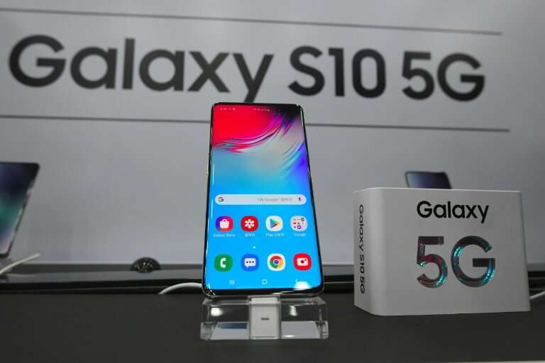 South Korea's three mobile carriers held launch parties for Samsung's Galaxy S10 5G, which costs at least $1,200