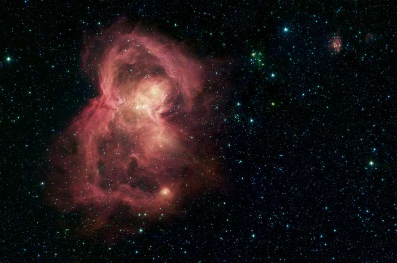 'Space butterfly' is home to hundreds of baby stars
