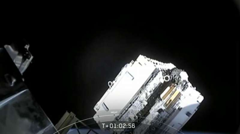 SpaceX has lost contact with three of its Starlink satellites