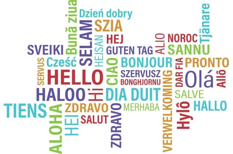 speaking foreign language