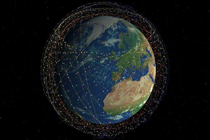 Starlink's satellites will be orbiting at a much lower altitude, reducing the risks of space junk