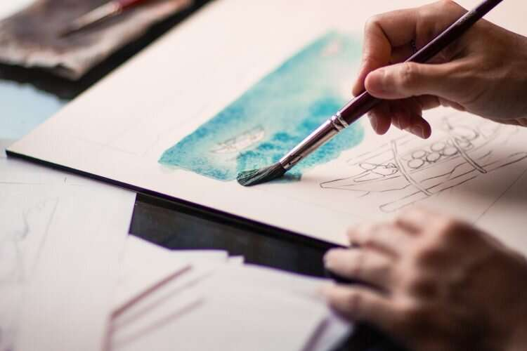 Stressed at school? Art therapy reduces teenage girls' headaches