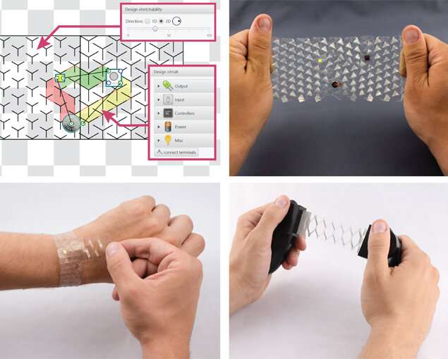 Stretchable circuits: New process simplifies production of functional prototypes