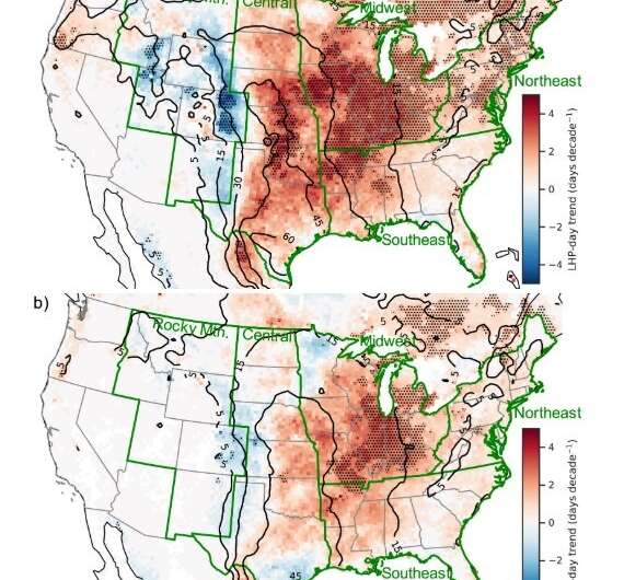 Study: Favorable Environments for Large Hail Increasing Across U.S.