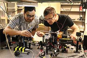 Study shows ability to detect light from UV to the IR optical regimes using spin currents