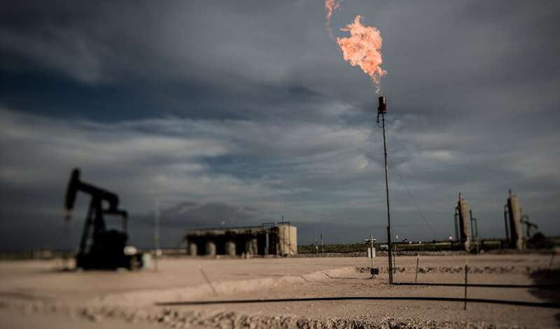 Study uses satellite data to pinpoint widespread oil industry 'flaring'