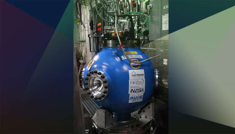 Subcritical experiment captures scientific measurements to advance stockpile safety