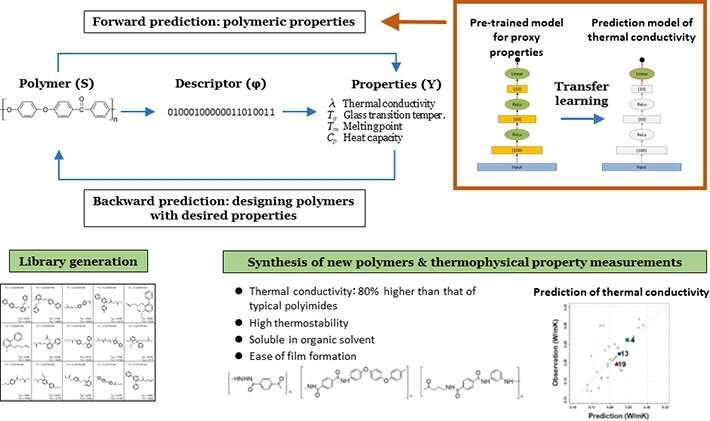 Successful application of machine learning in the discovery of new polymers