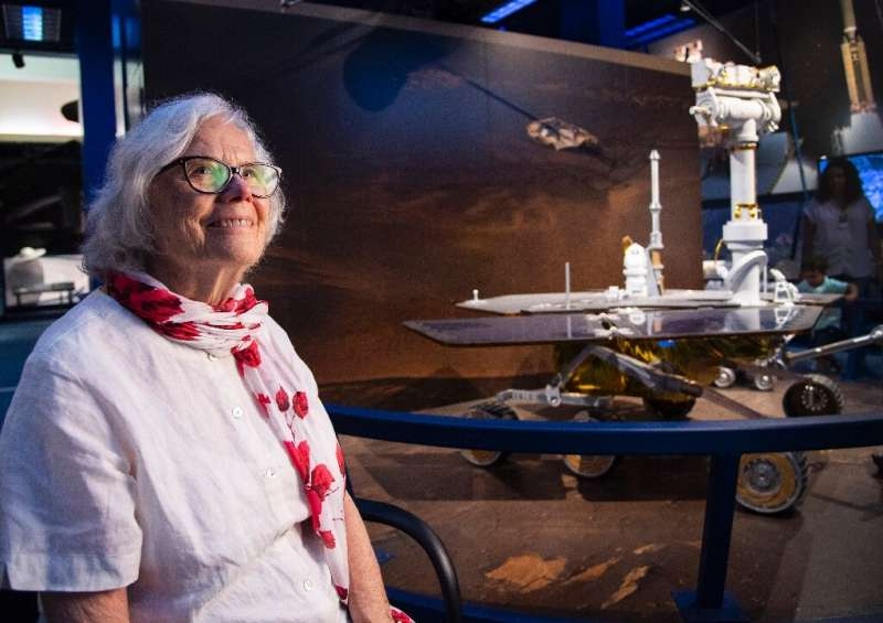 Sue Finley insists she has no plans to retire as long as she's still wanted by NASA in her role as a subsystems and testing engi