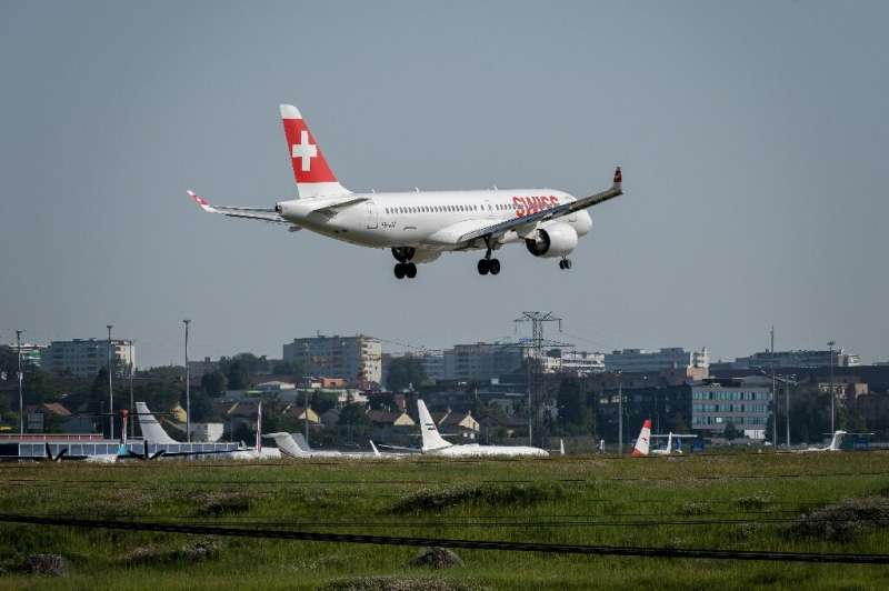 Swiss briefly grounded its A220 fleet earlier this month after several in-flight incidents with engines