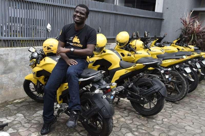 Tayo Bamiduro, founder and CEO of motorcycle taxi app MaxOkada
