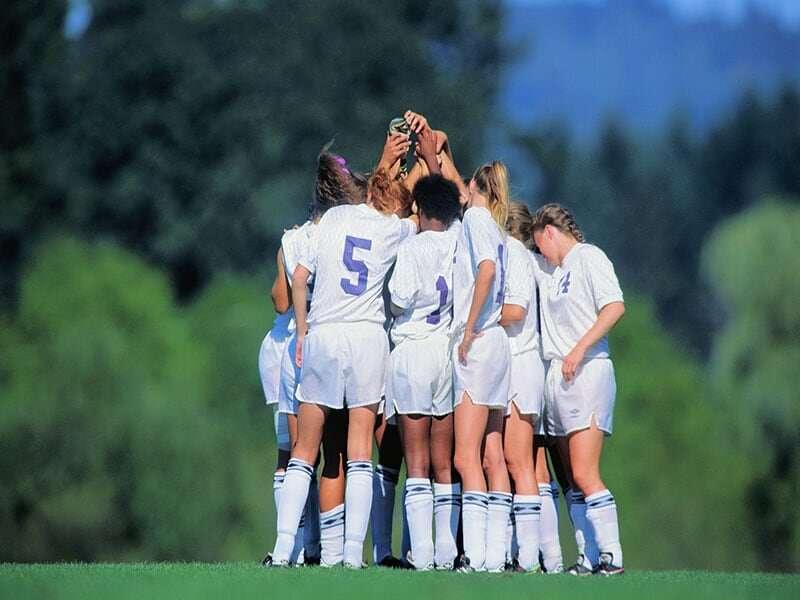 Teen team sports participation benefits adult mental health