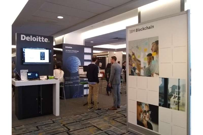 The 2019 Consensus blockhain conference drew 4,800 people, down from the 8,000 who attended a year before