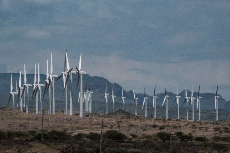 The $680-million wind power project is delivering 310 megawatts of renewable power to Kenya's national grid