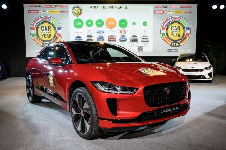 The annual European Car of the Year prize went to Jaguar's new electric I-Pace model, marking only the second time in the 45-yea