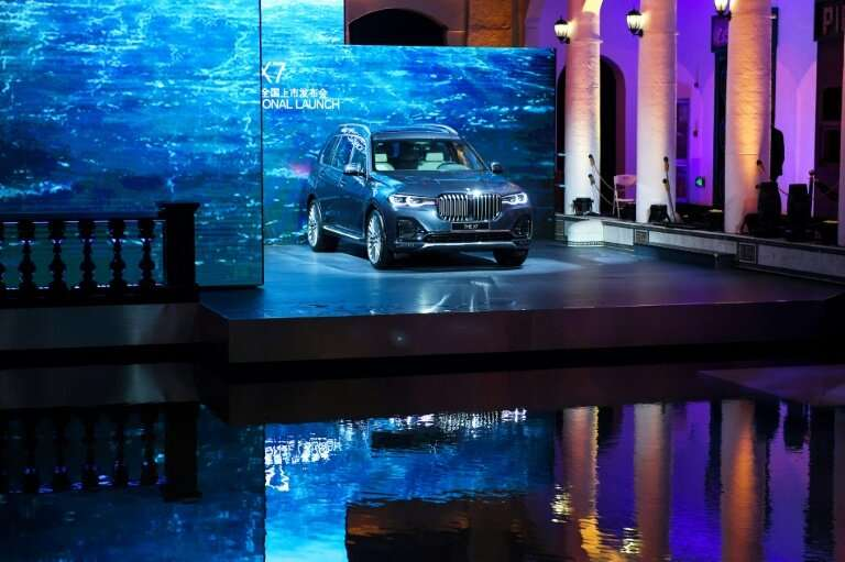 The BMW announcement came as global carmakers were gathered for the Shanghai Auto Show