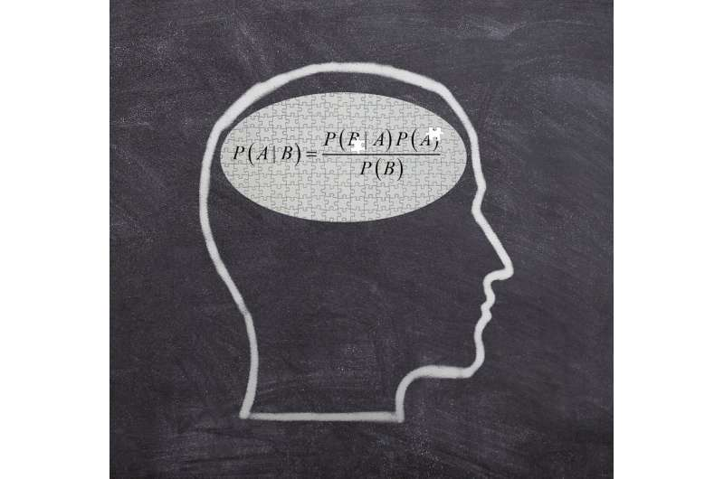 The brain's imperfect execution of mathematically optimal perception
