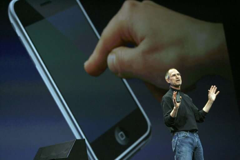The brick shape has dominated the industry since Steve Jobs unveiled the first iPhone in 2007