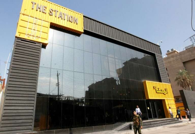 """The building in central Baghdad called """"The Station"""" is where self-starters begin to create their own project in a cou"""