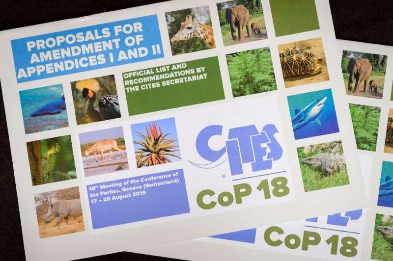The CITES agenda comprises 56 proposals, which thousands of specialists are to debate over 12 days in Geneva