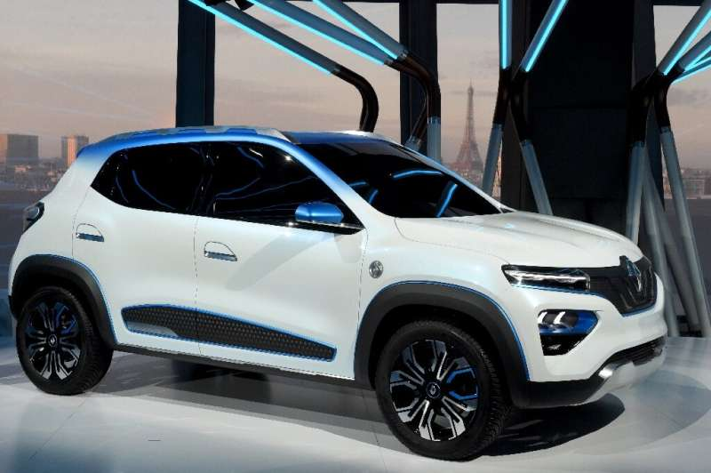 The City K-ZE is Renault's hope to capture part of the Chinese market for electric vehicles