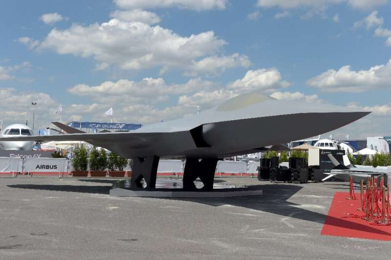 The combat fighter is to go into service in 2040