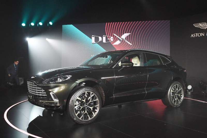 The DBX is Aston Martin's first sports utility vehicle