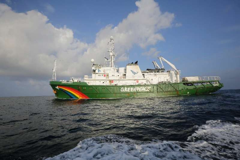 The Esperanza is a former Russian fire-fighting vessel-turned environmental crusader