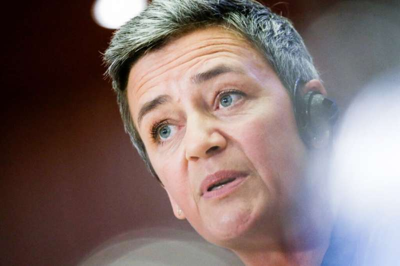 The EU's competition commissioner, Margrethe Vestager, says there are 'many concerns when it comes to Apple Pay'