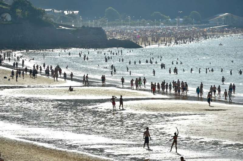 The heat has been particularly intense in northern Spain, with temperatures set to rise above 40 degrees Celcius at the weekend