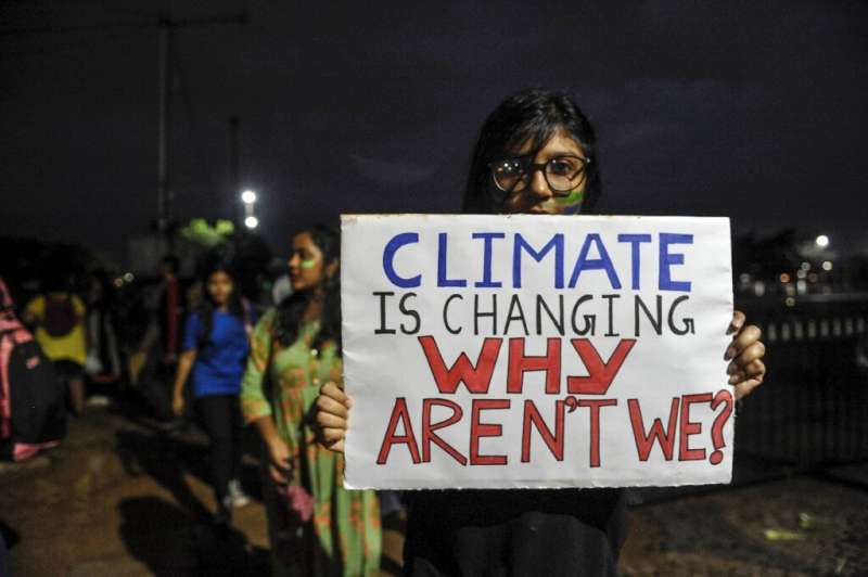 The Lancet warning follows a year of global youth climate strikes inspired by Greta Thunberg