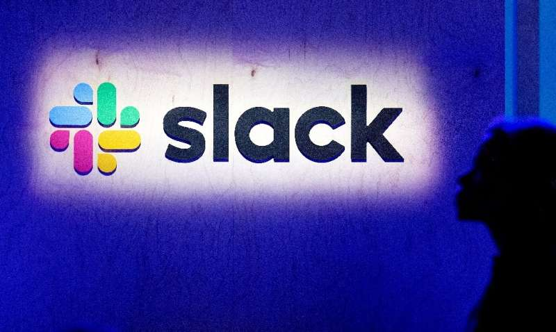 The market arrival of Slack— which markets online tools for information sharing and workflow management—underscroes investor hun