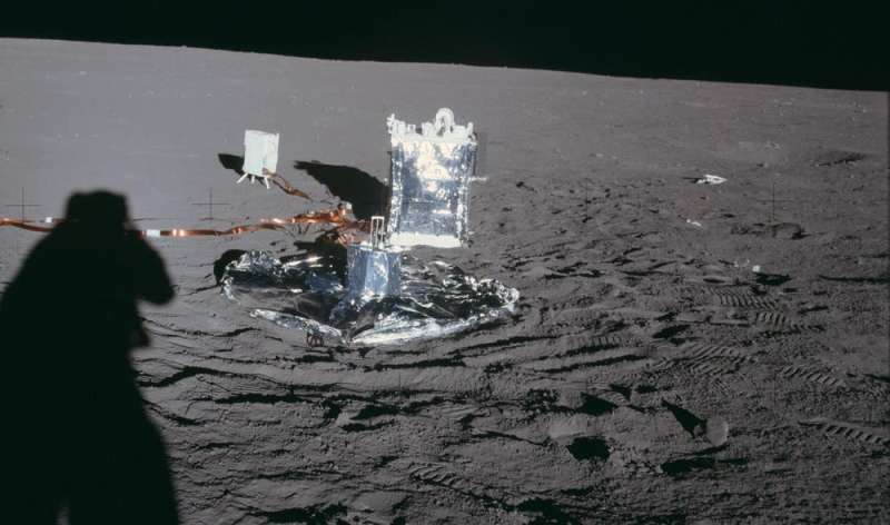 The moon is still geologically active, study suggests