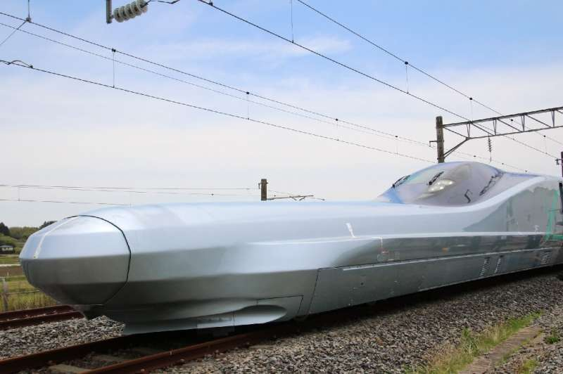 The new train is set to be the world's fastest on wheels
