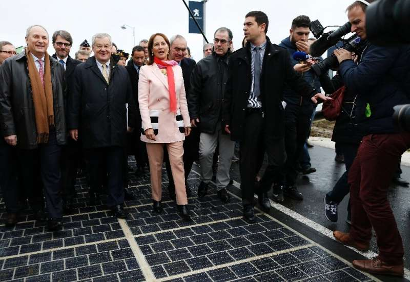 Then French environment minister Segolene Royal said in December 2016 that the country would develop a solar panel road network